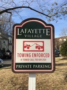 Lafayette Village Parking